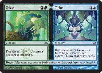 dragons maze give take