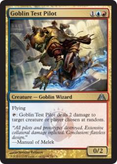 dragon's maze Goblin Test Pilot